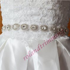 **22,58 ** 3 wholesale bride new bridal rhinestone sash belt luxury crystal ribbon sashes for dresses ray326-in Belts & Cummerbunds from Women's Clothing & Accessories on Aliexpress.com | Alibaba Group
