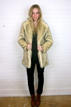 Cruella Faux Fur Coat
