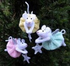 Ravelry: Furry Fairies pattern by Alan Dart