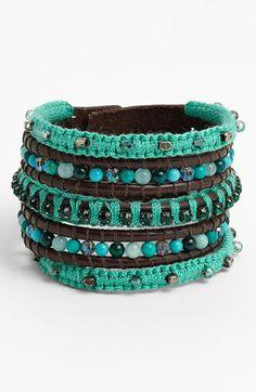 LOVE this multi strand bracelet