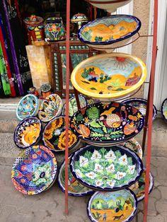 Shopping, Playa del Carmen, Mexico July 2013 Riviera Maya, Future House, Decorative Plates, Pottery, Ceramics, Cool Stuff, Bedroom, Travel, Home Decor