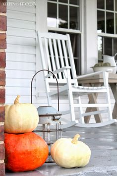 Keeping It Cozy: October (On the Porch)