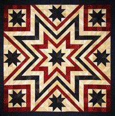 patriotic star quilt