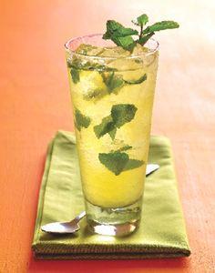 Green Tea Mojito Cocktail Recipe