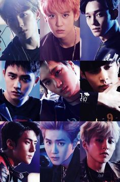 EXO OMG THEY LOOK SO GOOD