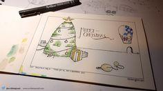 2015 Christmas cards now available Blue Christmas, Christmas Cards, Latest Gadgets, Apple News, Say Hi, Ipad, Bright, Iphone, Illustration