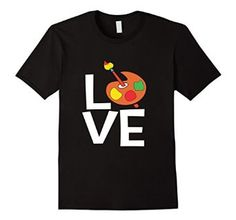 Amazon.com: Love Art Tshirt: Clothing Great for 1st, 2nd, 3rd, 4th, 5th, 6th grade class and up. Perfect for the Teacher. Teacher Gift Idea. Perfect for your little one to wear on his/her first day of any Grade. men, women, youth and kids sizes. Artist paint pallet graphic design tee