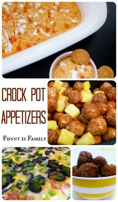 Parties and holidays are made simple with these delicious Crockpot Appetizer recipes! Dips, meatballs, Chex Mix, and little smokies are all covered here! Hosting a party? Feeding a crowd? Check out these easy and delicious Crock Pot Appetizers! Best Slow Cooker, Slow Cooker Recipes, Crockpot Recipes, Slow Cooker Appetizers, Appetizer Recipes, Simple Appetizers, Vegetarian Appetizers, Appetizer Ideas, Party Recipes
