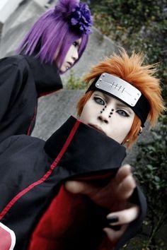 Pein & Konan - Naruto.