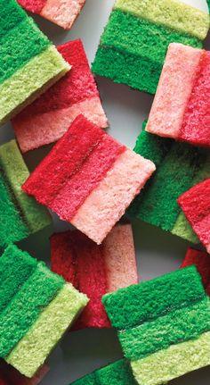 Ombré Rainbow Cookies recipe: Very Instagram-worthy.