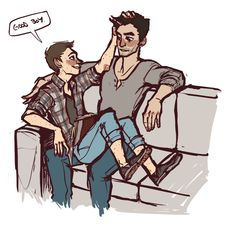 TEEN WOLF FAN ART — pembroke: stiles you are just asking to be...