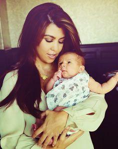 kourtney.Kardashian.and.daughter   Kourtney Kardashian and daughter Penelope Scotland Disick