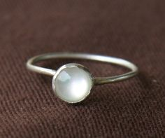 Etsy Mother of Pearl Ring! I'm not much of a jewelry wearer but i love this!