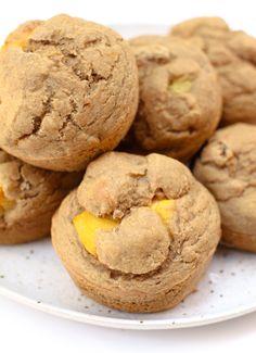 Mango Ginger Muffins #vegan #hclf #oilfree #glutenfree #snack
