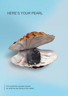 plastic pollution on Behance Ads Creative, Creative Posters, Creative Advertising, Advertising Design, Environmental Posters, Environmental Pollution, Environmental Issues, Ocean Pollution, Plastic Pollution