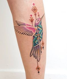 Hummingbird tattoo - 110 Lovely Bird Tattoo Designs  <3 <3
