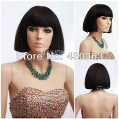 These gorgeous and pretty ponytail wigs, wigs hairpieces and detangling synthetic wigs provides here will meet your each requirement for a good women black hair wigs chinese bob wigs synthtic real looking wigs for women display wigs maker Short Hairstyles For Women, Wig Hairstyles, Straight Hairstyles, Hair Styles 2014, Wig Styles, Long Wigs, Short Wigs, Black Hair Wigs