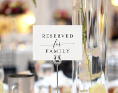 Bliss Collections Reserved Signs for Wedding Reception, Reserved Table Cards, Table Setting Cards, Pack of 10 Reserved Table Signs, Reserved Wedding Signs, Reserved Seating, Gold Table Numbers, Wedding Table Numbers, Wedding Reception Signs, Wedding Ideas, Wedding Signage, Wedding Tables