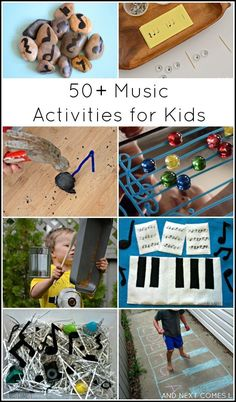 50 music activities music theory games for kids from And Next Comes L Music Activities For Kids, Music Lessons For Kids, Music For Kids, Toddler Activities, Good Music, Piano Lessons, Music Music, Music And Art, Music Education Activities