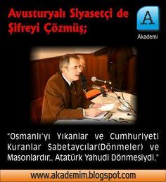 Mustafa Kemal Atatürk Yahudi Dönmesi yani Sabetayistti