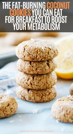 Soft and Chewy Lemon Coconut Cookies- made with fresh lemon zest and naturally sweetened with coconut sugar. You won't be able to eat just one! Healthy Snacks, Healthy Eating, Healthy Recipes, Nutritious Meals, Muffins, Lemon Coconut, Coconut Sugar, Coconut Cookies, Sugar Cookies