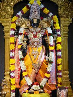 Today's Darshan (8-11-12) Lord Balaji @ISKCONPune