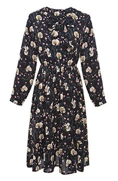 Olrain Women's Vintage Long Sleeve Floral Picnic Dress   https://www.amazon.com/gp/product/B06X9TPMCN/ref=as_li_qf_sp_asin_il_tl?ie=UTF8&tag=rockaclothsto-20&camp=1789&creative=9325&linkCode=as2&creativeASIN=B06X9TPMCN&linkId=a9626eba56e7d0d545b7363445832159