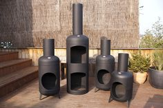 All sizes | Gas Bottle Chimineas | Flickr - Photo Sharing!