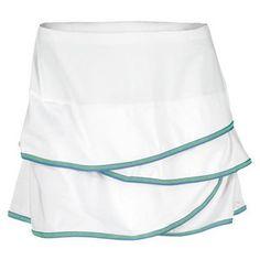 Women`s Scalloped Border Tennis Skort