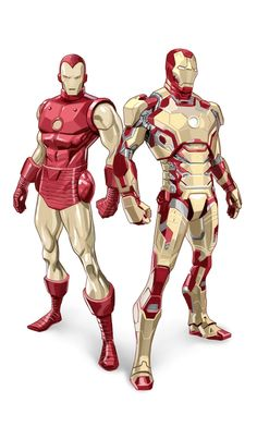 Iron Man: Before and After -Dan Mora