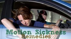 Easy Motion Sickness Remedies! Be prepared for your next road trip, boating day, cruise, plane ride or even roller coaster with these useful tips for dealing with motion sickness.