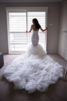 Steven Khalil, Size 8 Wedding Dress