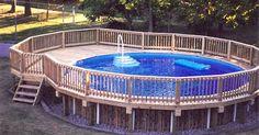 Cómo construir una terraza alrededor de una piscina ubicada sobre el nivel del suelo. Tener una terraza alrededor de tu piscina no solo hermosea tu patio, también mantiene más limpio el espejo de agua porque se acarrea menos tierra hacia él. Construir la terraza no es tan difícil como parece. La altura está casi predeterminada ya que tienes que colcarla al mismo nivel que el borde de la piscina. Además, el diseño básico ya está ...