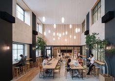 Airbnb Tokyo Office, Airbnb Tokyo Office design in Shinjuku, Airbnb interior…