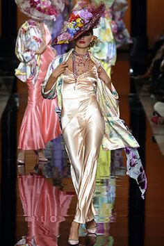 Ungaro Couture   Spring 2003 Couture Collection   Style.com