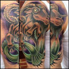 39 exemples de tatouage du signe du capricorne - 6