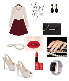 """<3"" by velida-husic ❤ liked on Polyvore featuring мода, Lauren Lorraine и MICHAEL Michael Kors"