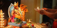 Aarti is done by all Hindu's every morning to keep the evil eye away from them