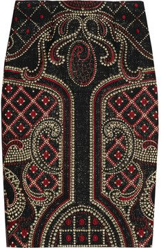 Prabal Gurung Metallic brocade pencil skirt on shopstyle.com