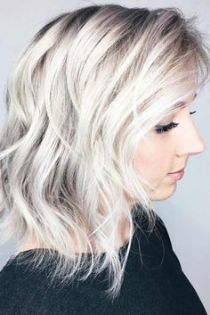 Super-Gorgeous Medium Hairstyles with Bangs to Try ★ See more: http://lovehairstyles.com/gorgeous-medium-hairstyles-with-bangs/