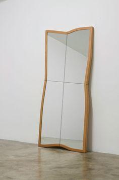 "turecepcja: ""Mirror installation by Ron Gilad """