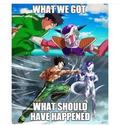 Don't we all wish... but at least Gohan is back to training.
