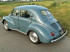 Renault 4CV. French vintage, over 1million produced between 1947 and 1961.
