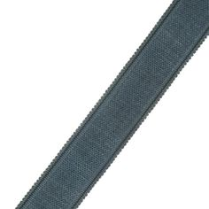 """French General 1.75"""" Manon Trim Bleu from @fabricdotcom  Use this versatile trim tape for accents on draperies, valences, duvet covers, and toss pillows."""