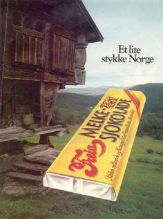 Freia Melkesjokolade (Norwegian milk chocolate) Et lite stykke Norge Norwegian Style, Norwegian Food, Land Of Midnight Sun, Norway Viking, Scandinavian Food, The Beautiful Country, Cool Countries, My Heritage, Vintage Advertisements