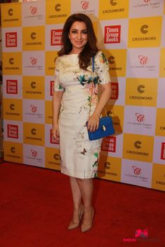 Tisca Chopra at Picture Perfect Book Launch