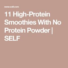 These low-cal dinner options will fill you up. These high-protein recipes are all under 500 calories and contain at least 15 grams of protein. High Protein Smoothies, High Protein Recipes, Protein Foods, Healthy Recipes, Healthy Meals, Protein Dinners, Vitamix Recipes, Protein Shakes, Easy Recipes