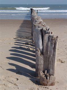 Cadzand beach, vlakbij ons heerlijke vakantiehuis. #vakantiehuis #Cadzand