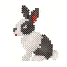 Rabbit hama perler beads by JohnsonKathy