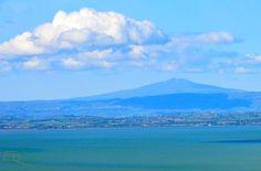 Monte Amiata en het Trasimeense meer